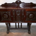 30-03 Cuban mahogany breakfront sold at NT 1930's